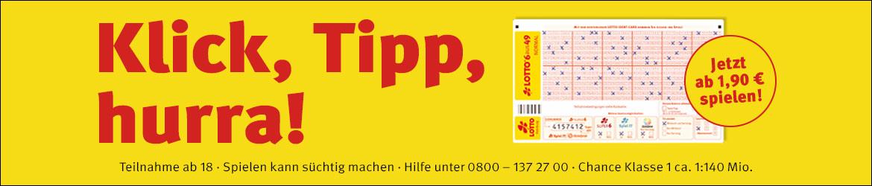 Werbebanner von Lotto Hamburg